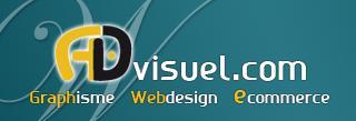 logo advisuel agence web Toulouse creation site internet
