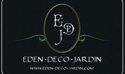 Recto carte de visite Eden Deco Jardin