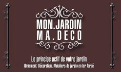 Recto carte de visite boutique en ligne Mon Jardin Ma Deco