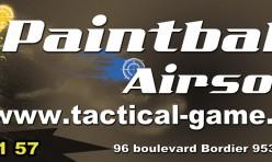 Création bâche et banderole boutique Paintball Tactical Game