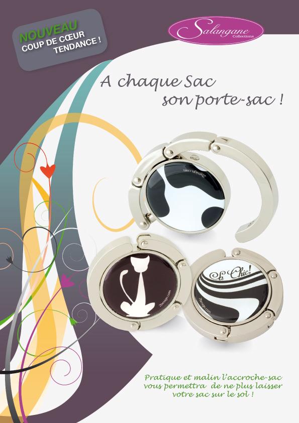 réalisation graphique Toulouse en création de brochure commerciale, Salangane format A4