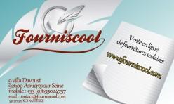 Création de la carte de visite Fourniscool