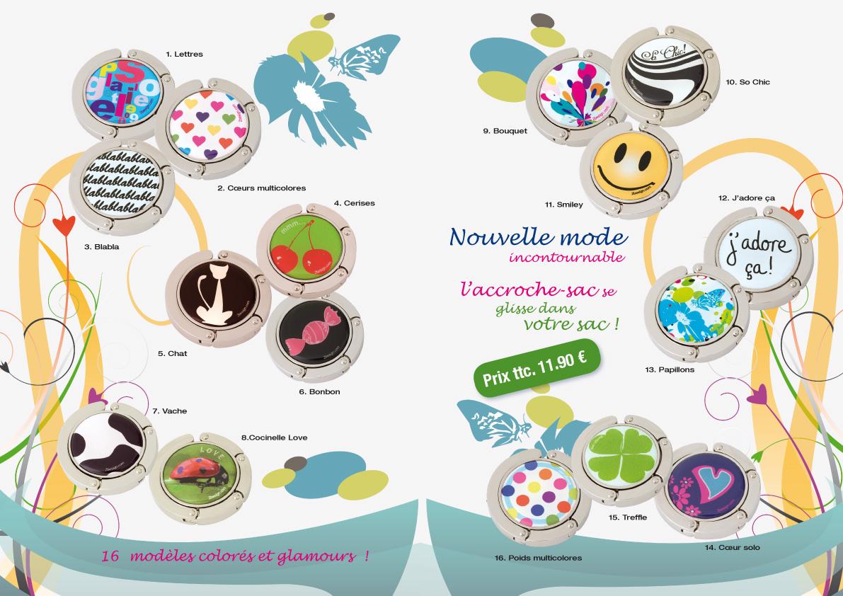 intérieur brochure accessoires de mode Salangane