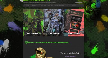 Site internet Direct Paintball 95