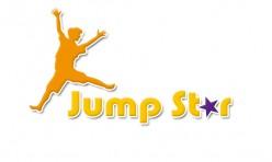 Conception du logo trampoline jumpstar