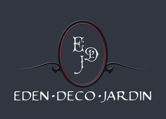 creation LOGO Eden deco jardin, Paris