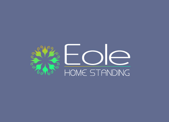 Relooking du LOGO de l'Agence immobilière Eole Home Standing - PORTO VECCHIO, Corse