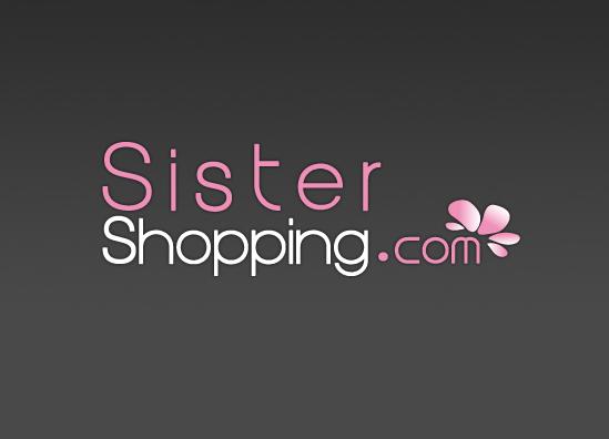 Conception identité visuelle et logo Sistershopping boutique ecommerce de mode - Paris, Ile de France