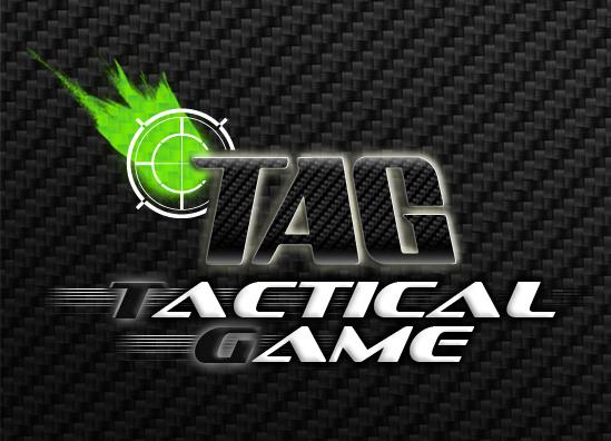 Réalisation du logo Tactical Game, création Flyer et bâche publicitaire, magasin Airsoft Paintball - Herblay Val d'oise