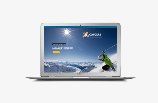 refonte site internet oxygers hautes pyrenees