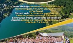 Création Flyer colonie de vacance Oxygers