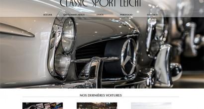 création site internet classic sport leicht