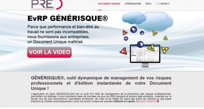 création site vitrine preo.fr