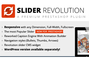 fatal error revolution slider prestashop 1.6