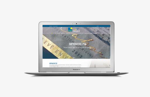 creation site internet toulouse imprimerie pse