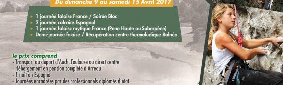 Création Flyer A4 centre de vacances Oxygers Hautes Pyrénées