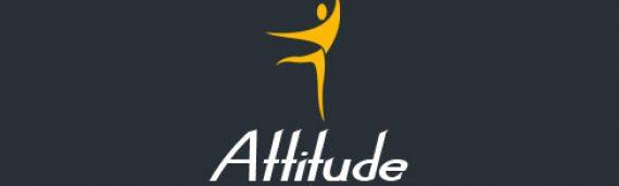 Création LOGO et identité graphique Académie de danse Attitude Toulouse 31