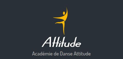 Refonte du LOGO et création du site internet, Académie de danse Attitude - Colomiers, Haute Garonne