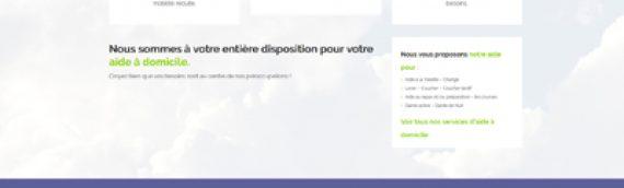 Refonte site internet CAPAD Services aide à domicile Ariège et Haute Garonne