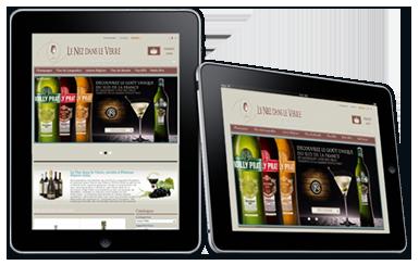 iPad création boutique e-commerce webdesigner