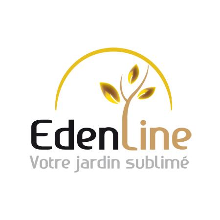 Création logo et identité visuelle EdenLine, charte graphique et web design