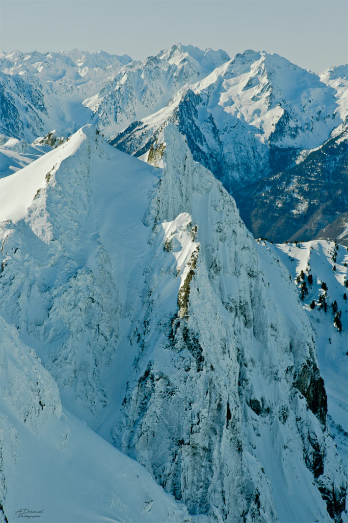 Photographie et prise de vue en montagne Alpes, Photographie et retouche