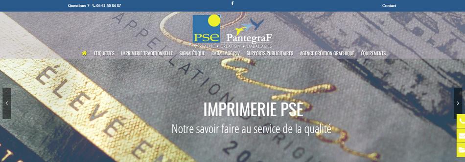 création site internet toulouse, PSE imprimerie Auterive