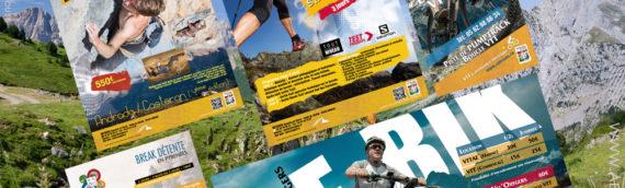 graphiste sport extrême montagne ski Advisuel Pyrénées Alpes