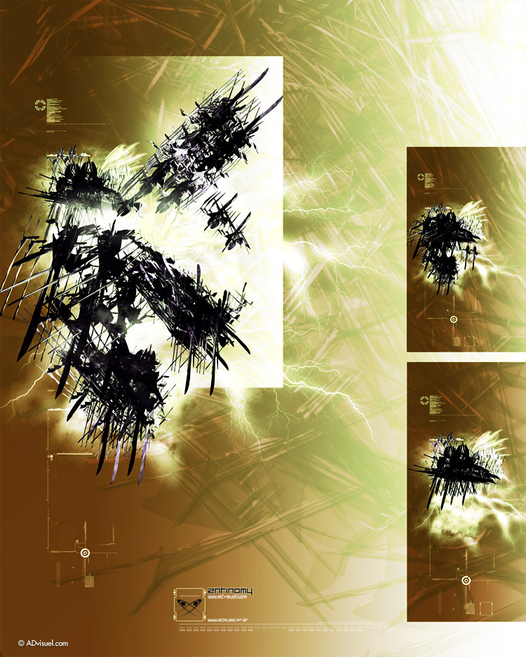 digital art photoshop CS5 3D advisuel