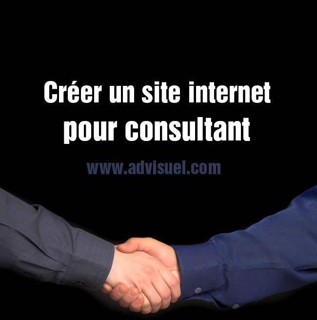 créer un site internet de consultant consulting cabinet conseil