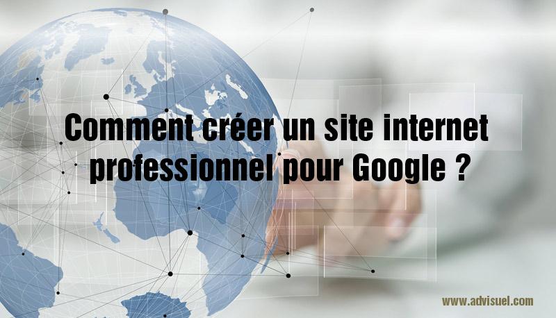 créer un site internet professionnel pour google gratuit