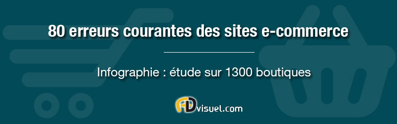 80 erreurs courantes des sites e-commerce