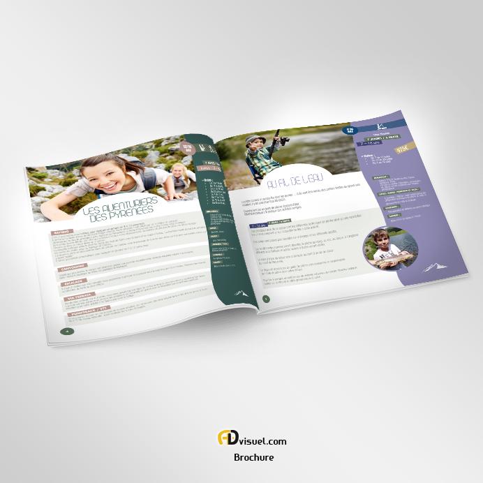 Création Plaquette commerciale et brochure