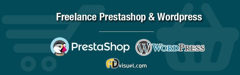 webmaster freelance prestashop wordpress