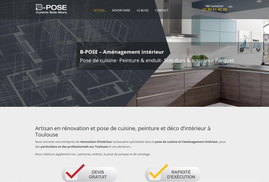 entreprise creation web sur mesure à toulouse pour artisan