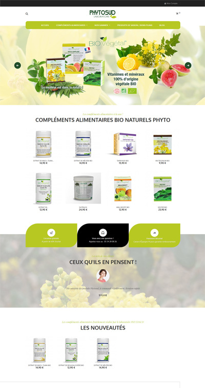 creation site ecommerce toulouse phytosud
