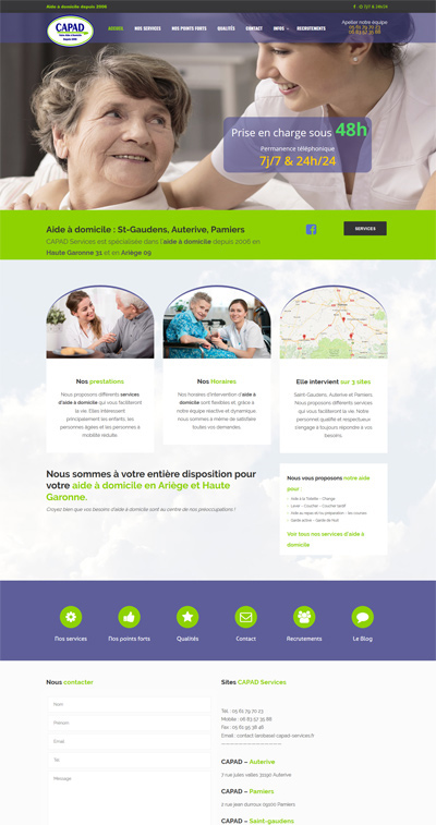 creation site internet toulouse capad services