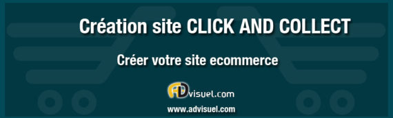 Création site click and collect vente à emporter ecommerce