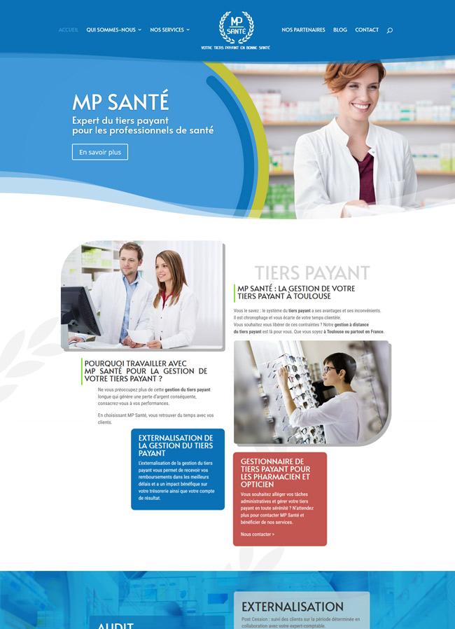 creation site web mp-sante