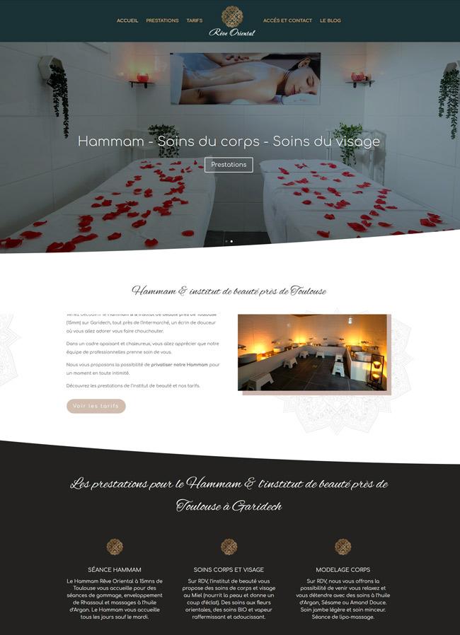 webdesign Wordpress site internet toulouse reve oriental