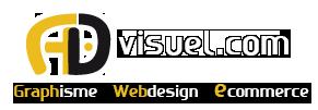 logo advisuel création site internet, ecommerce, design graphique