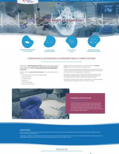 Réalisation Web Cardiomedex