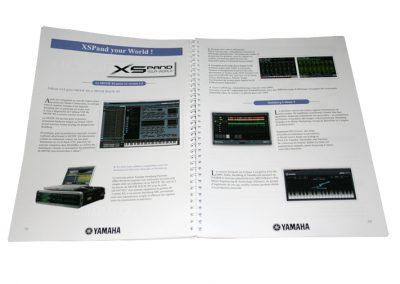 creation catalogue produit yamaha france 2010