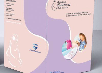 maquette catalogue clinique rive gauche toulouse